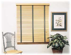 faux wood blinds picture